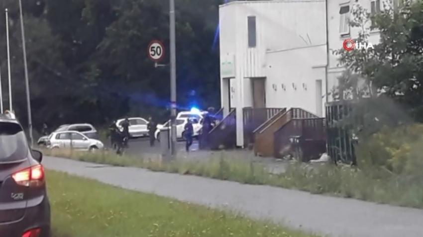 Norveç'te camide ateş açan saldırgan yakalandı
