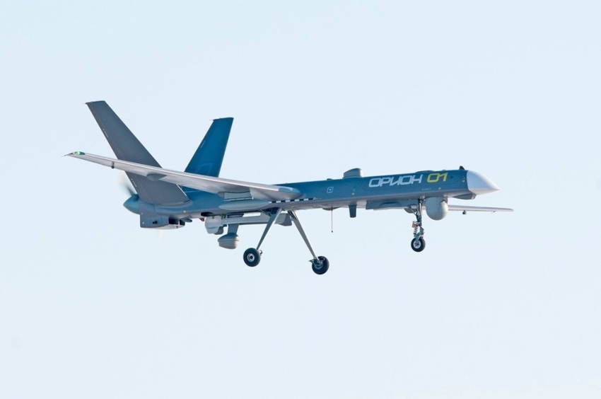 Uzun menzilli Rus İHA'sının Suriye'de test uçuşu gerçekleştirdiği iddiası