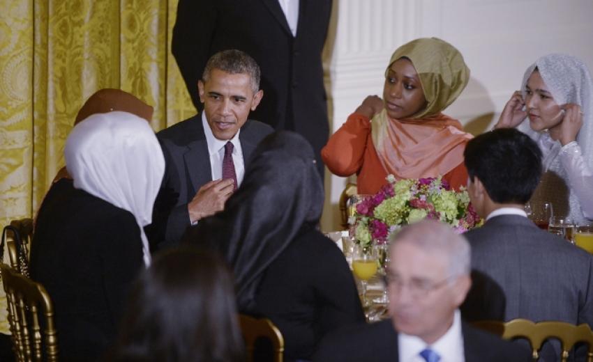 Obama Beyaz Saray'da iftar verdi