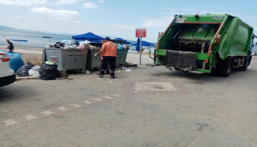 Kumla'da günlük 100 ton çöp