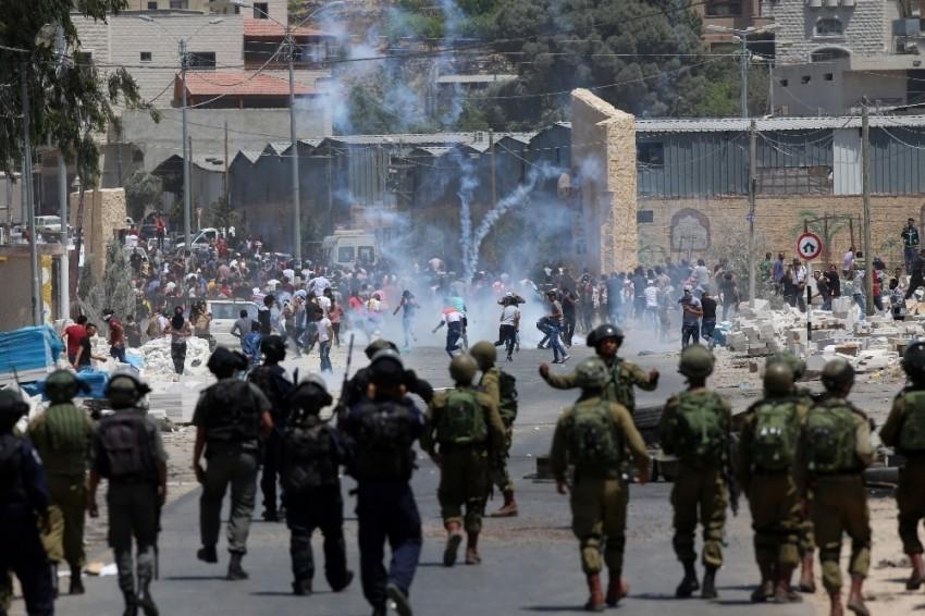 Gazze sınırında gerginlik: 11 Filistinli yaralandı