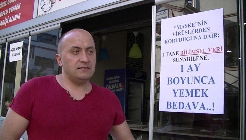 35 maske cezası yedi, dükkanına astığı yazı şaşkına çevirdi