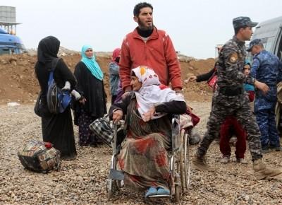 3 bin 846 kişi öldü: 415 bin kişi kenti terk etti