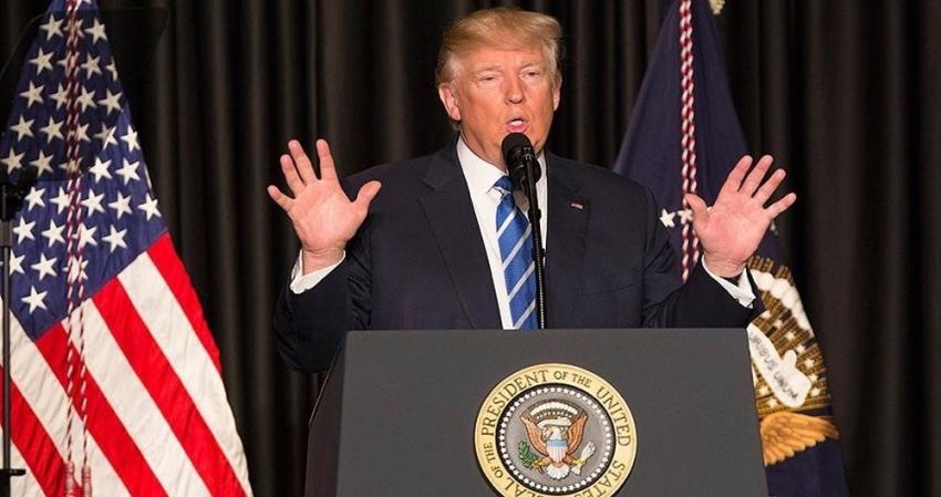 Trump'tan bir 'İran' açıklaması daha
