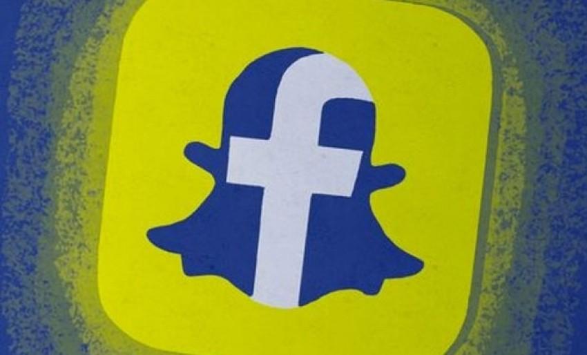 Facebook, Snapchat oluyor!