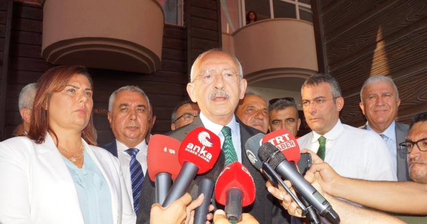 Kılıçdaroğlu, Kaftancıoğlu'na verilen cezayı değerlendirdi