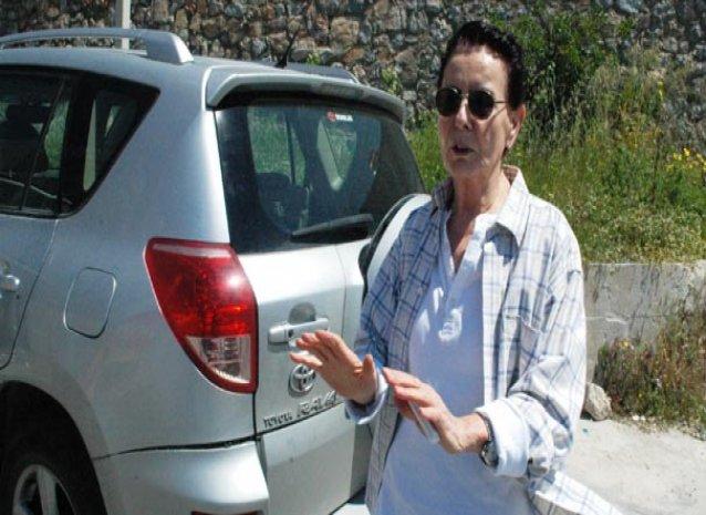 Fatma Girik Bodrum'da trafik kazası geçirdi