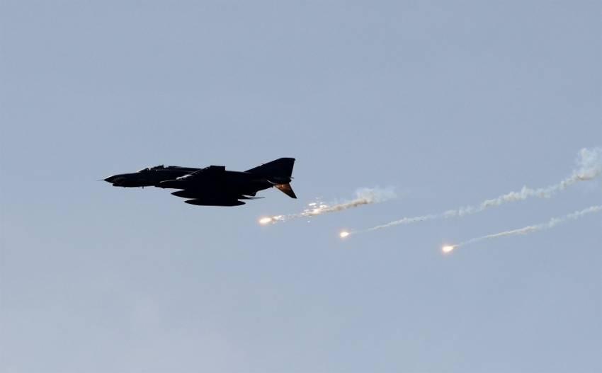 Tunceli'de terör hedeflerine hava harekatı
