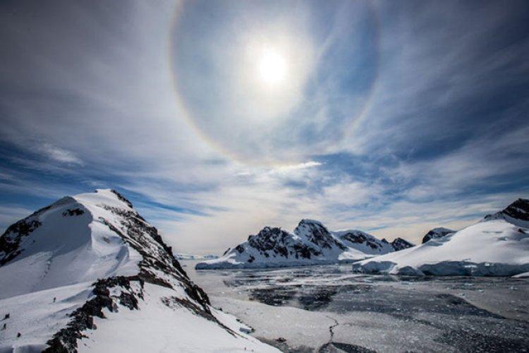 Antartika'nın buz gibi güzelliği