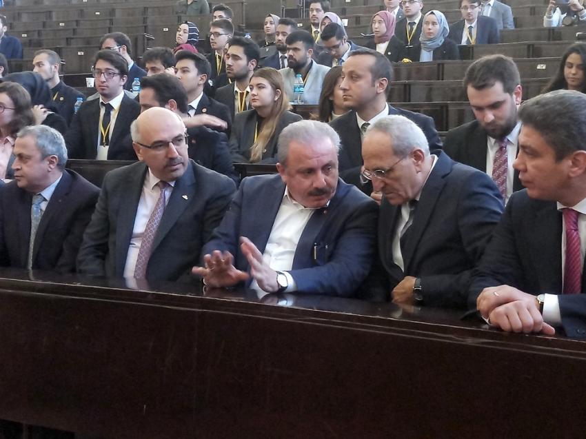 """TBMM Başkanı Şentop """"Meclis Simülasyonu"""" etkinliğinin açılış törenine katıldı"""