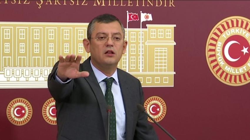 CHP'li Özel'den iç tüzük açıklaması