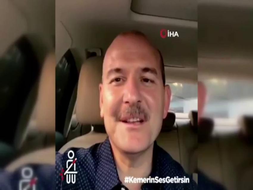 Kurban Bayramı öncesinde Bakan Soylu'dan emniyet kemeri uyarısı