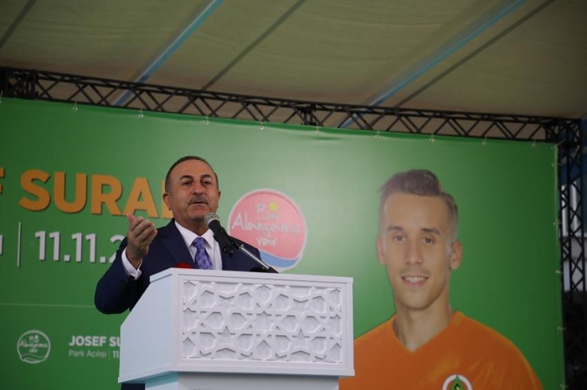 """Bakan Çavuşoğlu: """"Josef Sural'ı unutturmayacağız"""""""