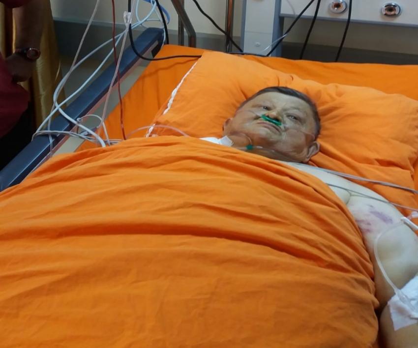 'Şişko Nuri' yaşam mücadelesi veriyor
