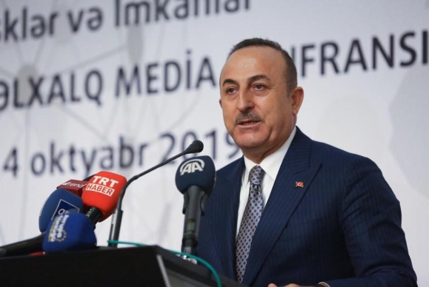 """Dışişleri Bakanı Çavuşoğlu: """"Biz insani konularda herkesten hassasız"""""""