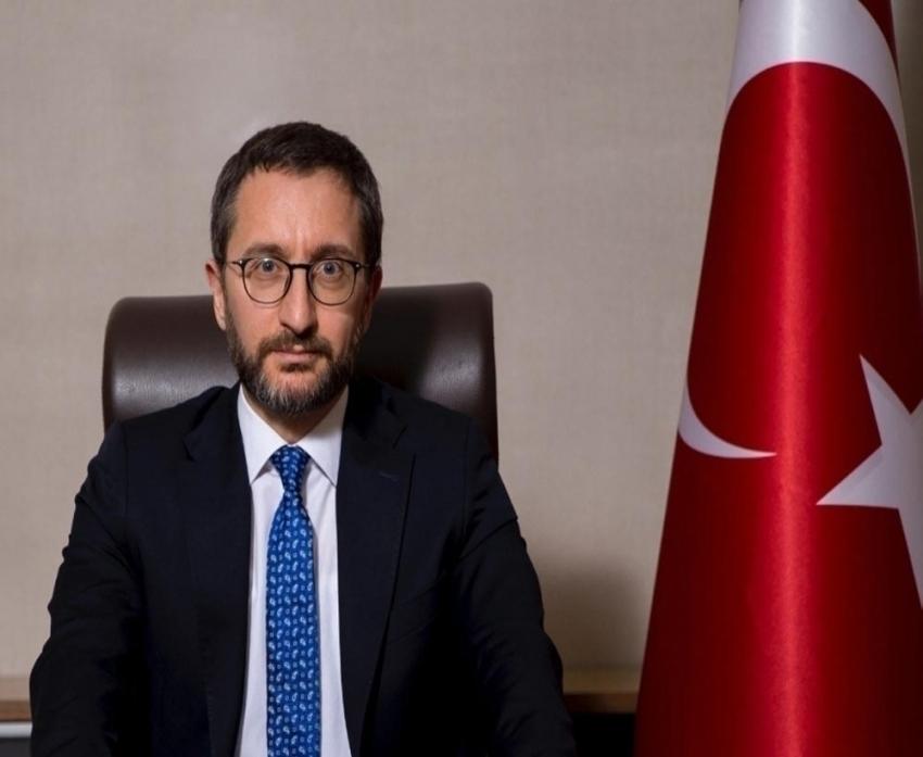 Cumhurbaşkanlığı İletişim Başkanı Altun'dan açıklama
