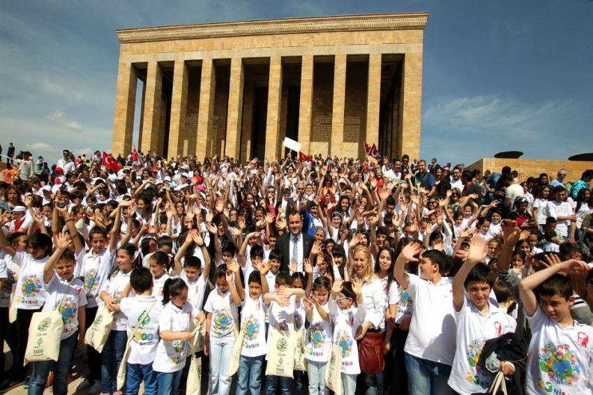 23 Nisan'da çocukların kalbi Anıtpark'ta atacak