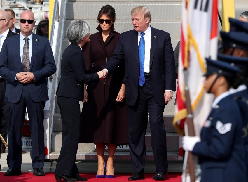 ABD Başkanı Trump Güney Kore'de