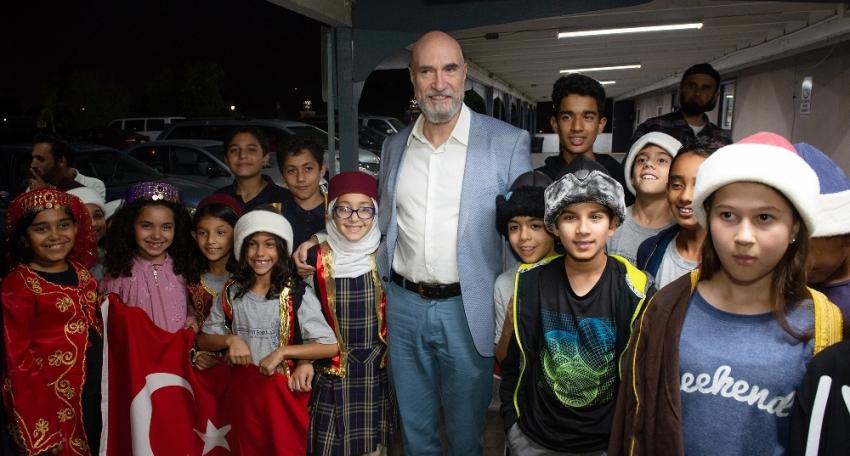 Osman Soykut, ABD'de hayranları ile bir araya geldi