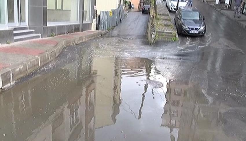 Beklenen yağış başladı