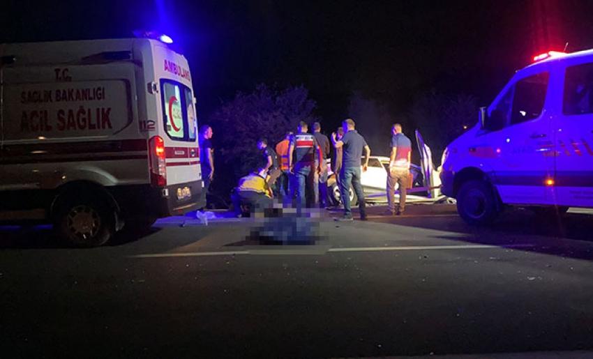 Feci kaza 2'si çocuk 4 ölü, 2 yaralı