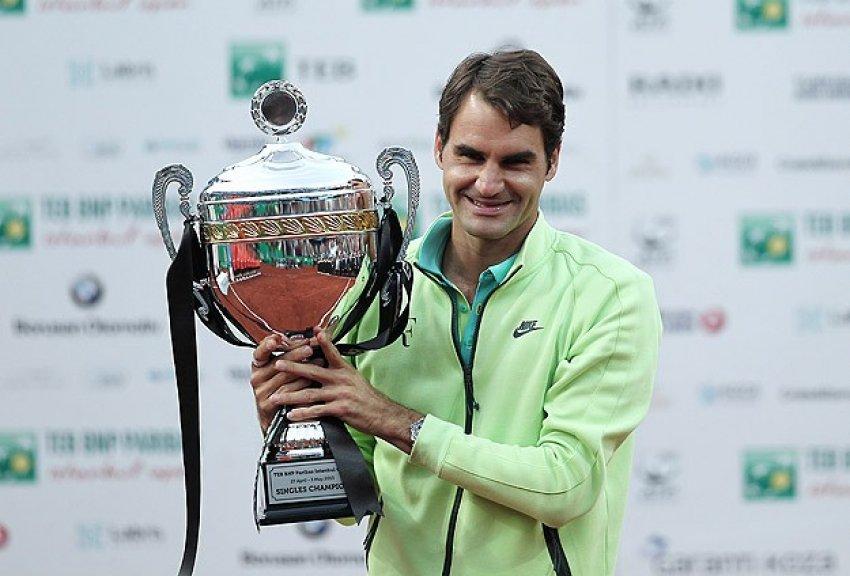 İstanbul'da Şampiyon Federer