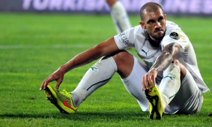 Fernandao Bursaspor'a veda etti