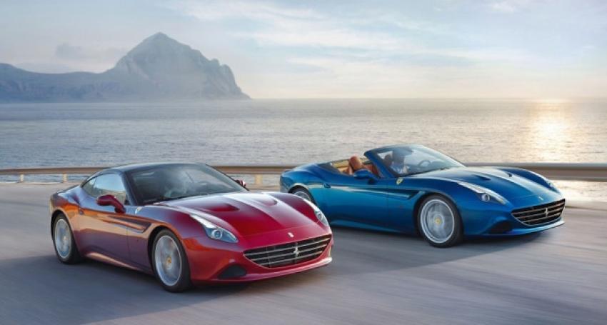 Ferrari California T görücüye çıktı