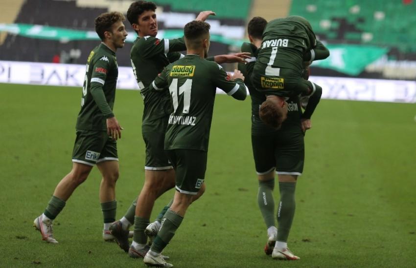 Bursaspor'un altyapısından yetişen isimler 42 gole imza attı