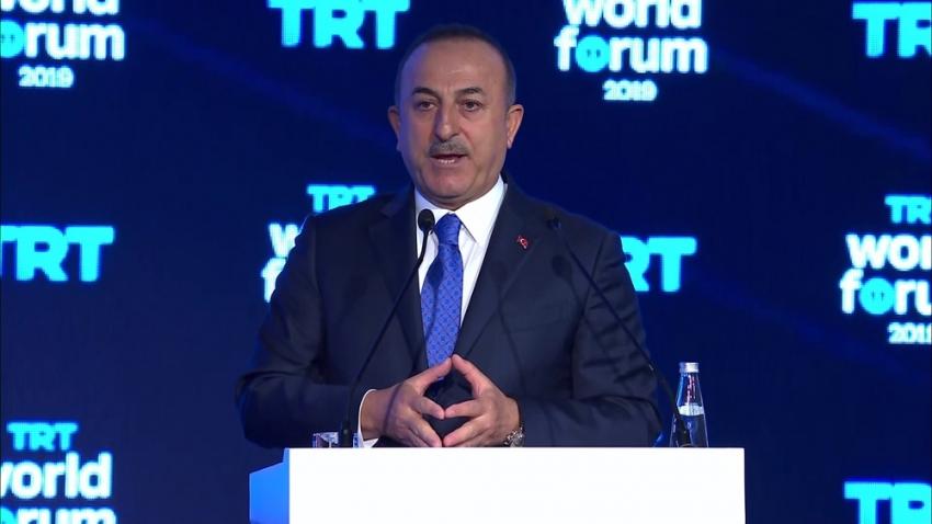 Bakan Çavuşoğlu'ndan kimyasal silah iddialarına sert yanıt