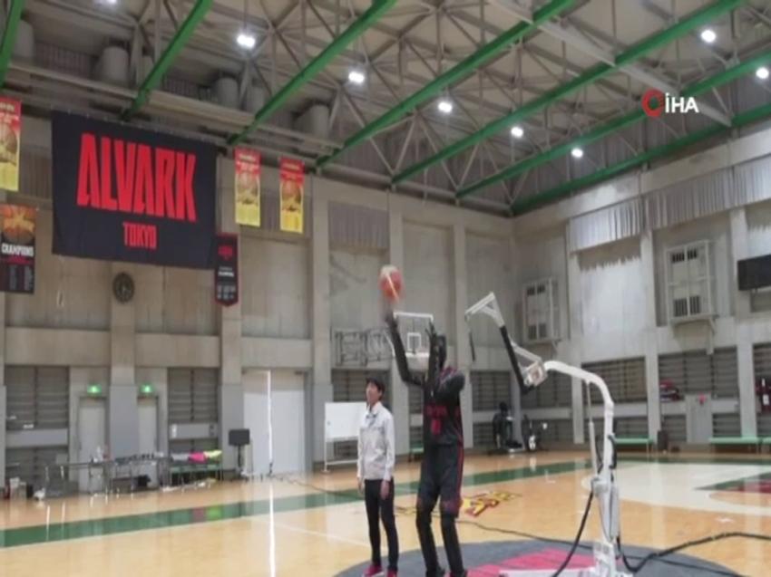 Toyota'nın basketçi robotu Guinness rekorlar kitabına girdi