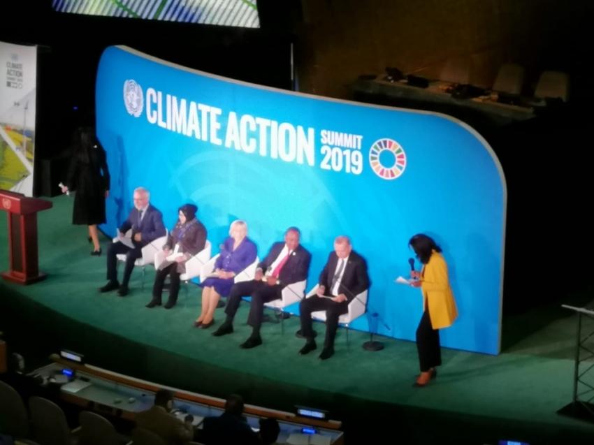Cumhurbaşkanı Erdoğan,BM İklim Değişikliği Zirvesi'nde konuştu