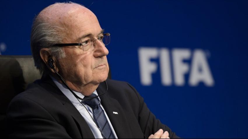 FİFA başkanı Blatter istifa etti