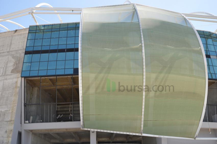 Timsah Arena'da iki farklı kaplama!