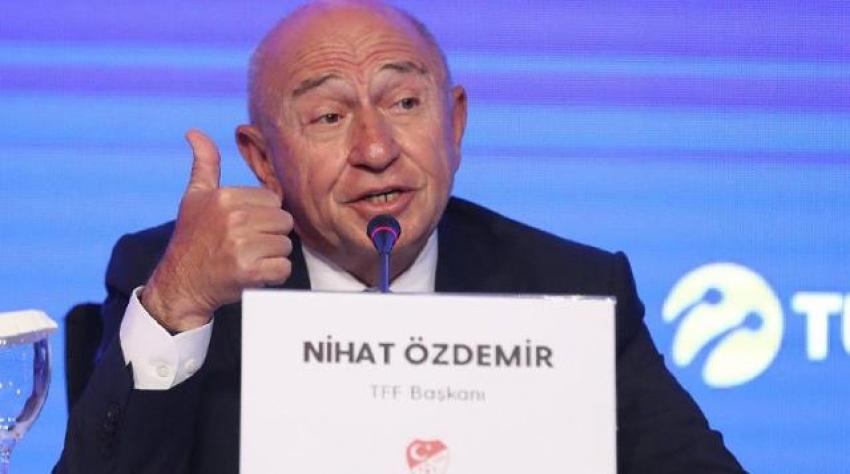 TFF Başkanı, finali İstanbul'da oynamak istemeyen İngilizlere ateş püskürdü