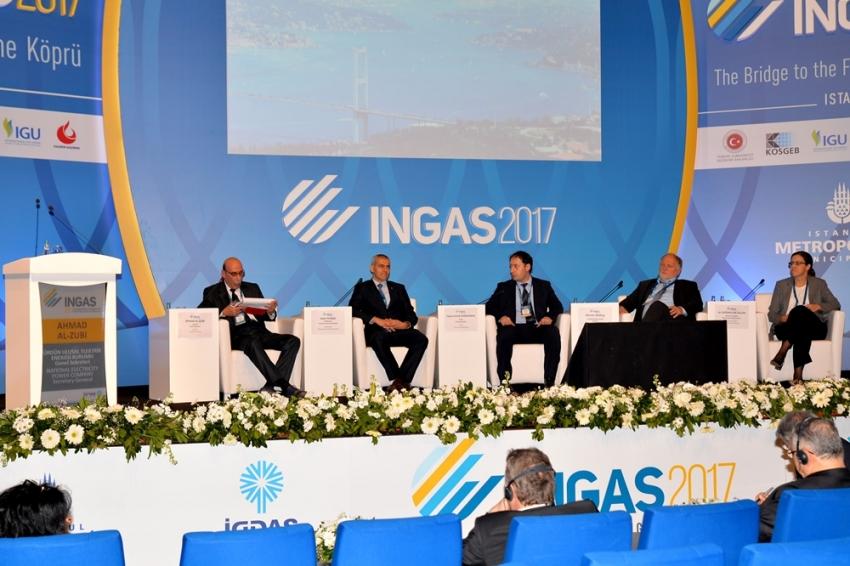 Bursagaz INGAS 2017'ye sunumlarıyla değer kattı