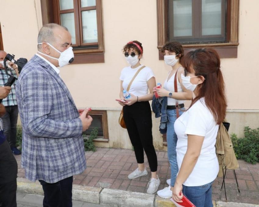 Bursa Mudanya'da gençlere sürpriz