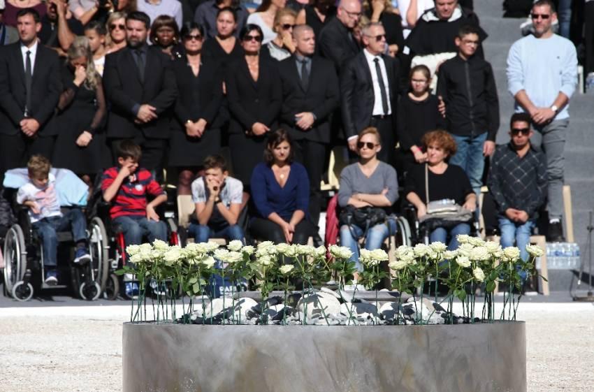 Fransa, Nice kurbanlarını andı