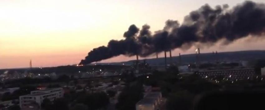 Fransa'da petrokimya tesisinde patlama