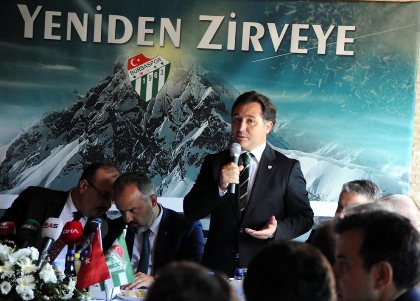 Bursa'dan Bursaspor protokolü