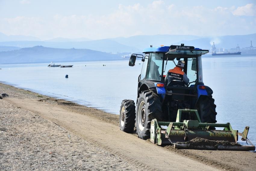 Gemlik sahilleri hak ettiği hizmete kavuşuyor