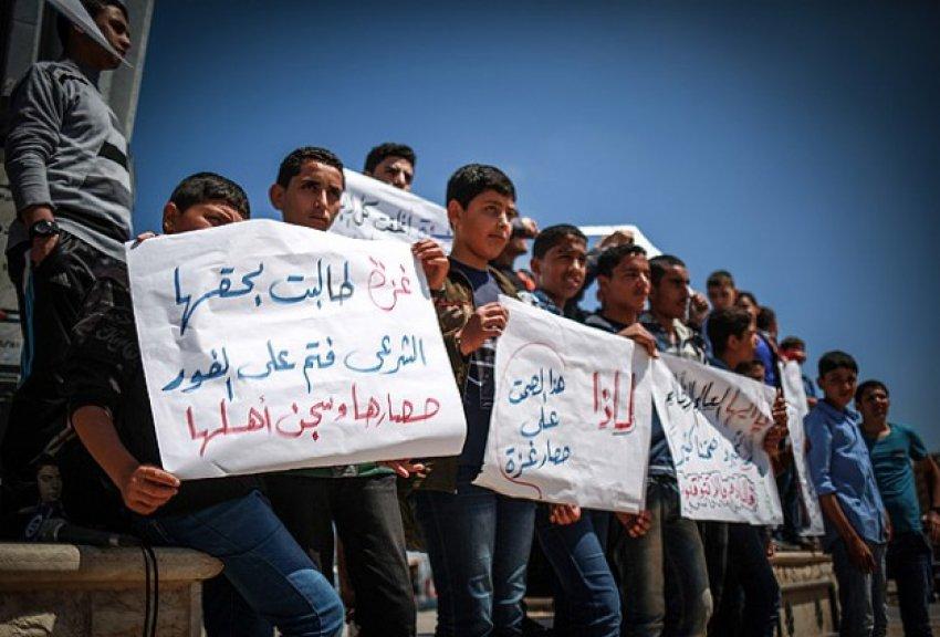 Gazzelilerden ambargoya karşı liman talebi