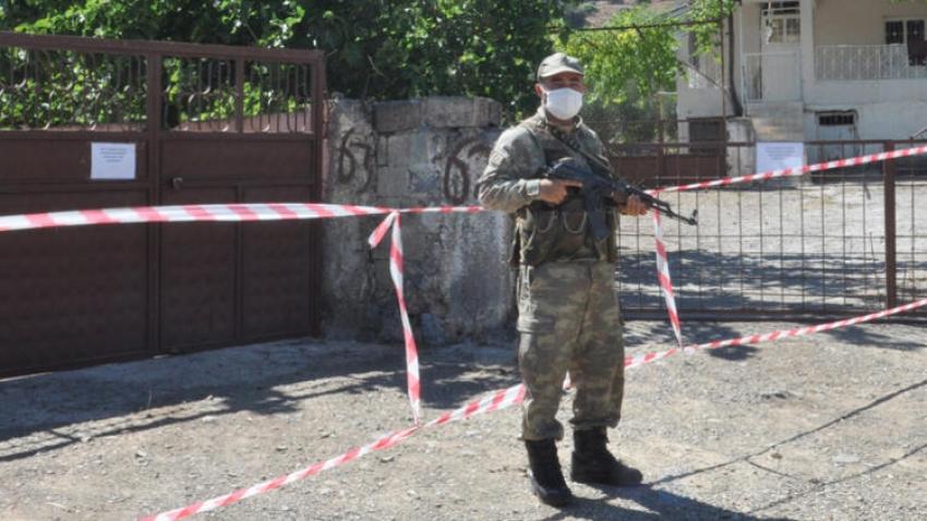'Geçmiş olsun'a gelen 27 kişi karantinaya alındı!