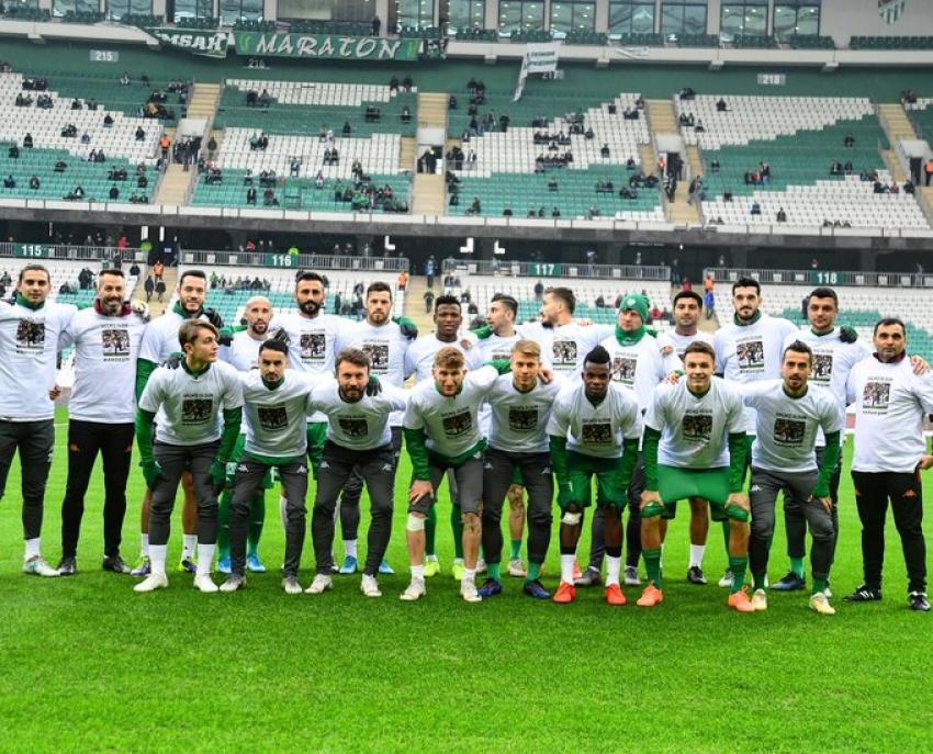 Bursaspor'dan Ramazan Keskin mesajı