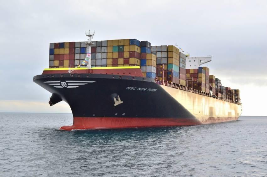 Bugüne kadar Türkiye'ye gelen en büyük gemi!