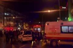 Gemlik'te iki araç çarpıştı: 2'si çocuk 6 yaralı
