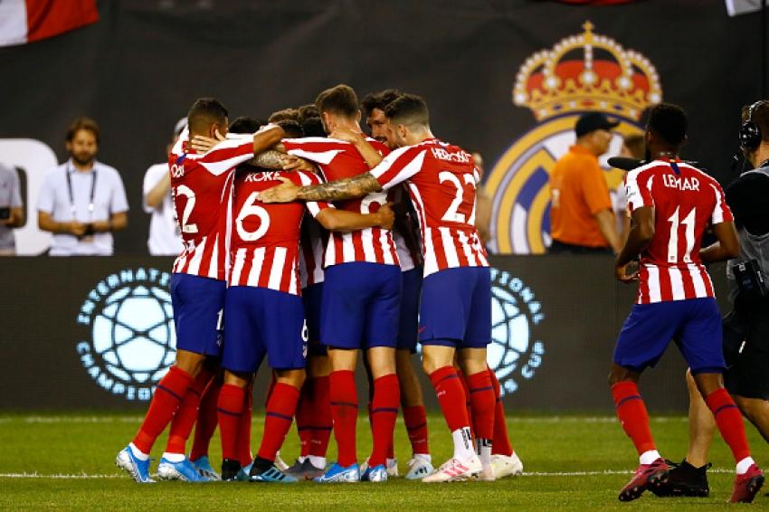 Atletico Madrid, Real Madrid'i 7-3 ile dağıttı!