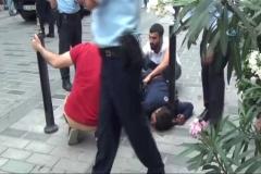 Gezi Parkında 'tinerci' dehşeti