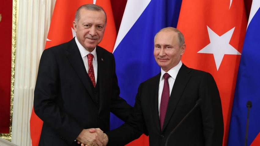 Erdoğan-Putin görüşmesi