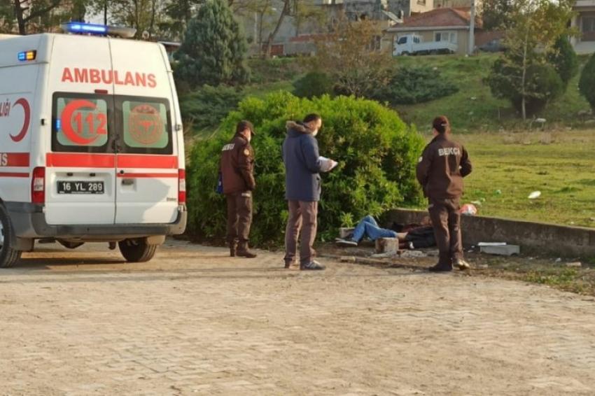 Bursa'da dere kenarında cesedi bulundu